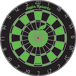 The Beatles Dartboard: Apple