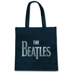 The Beatles Eco Bag: Drop T Logo (Grocery Version)