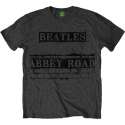 The Beatles Unisex Tee: Abbey Road Sign