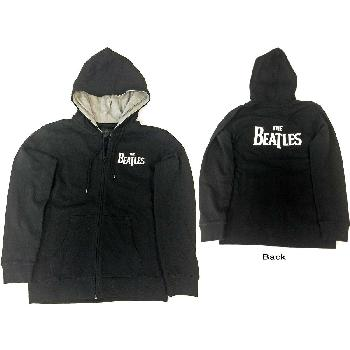 The Beatles Kids Youth's Fit Hoodie: Drop T Logo