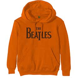 The Beatles Unisex Pullover Hoodie: Drop T Logo