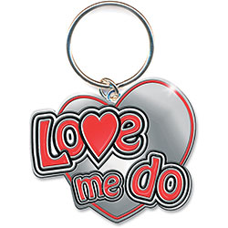 The Beatles Standard Key-Chain: Love Me Do