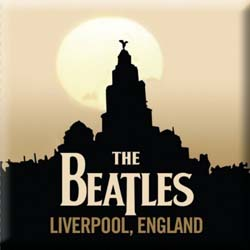 The Beatles Fridge Magnet: Liverpool