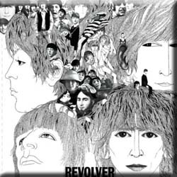 The Beatles Fridge Magnet: Revolver
