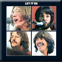 The Beatles Fridge Magnet: Let it Be Album