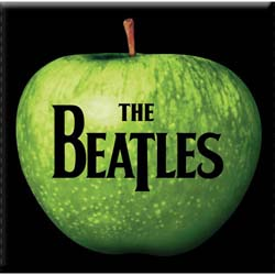 The Beatles Fridge Magnet: Apple