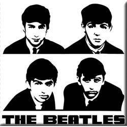 The Beatles Fridge Magnet: Portrait