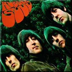 The Beatles Fridge Magnet: Rubber Soul