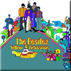 The Beatles Fridge Magnet: Yellow Submarine
