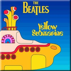 The Beatles Fridge Magnet: Yellow Submarine Songtrack