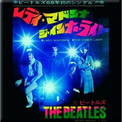 The Beatles Fridge Magnet: Lady Madonna/The Inner Light (Japan Release)