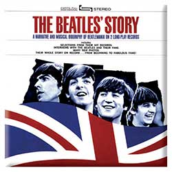 The Beatles Fridge Magnet: The Beatles Story