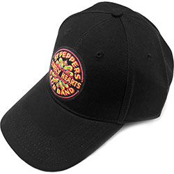 The Beatles Men's Baseball Cap: Sgt. Pepper (Black)