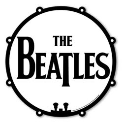 The Beatles Mouse Mat: Drum