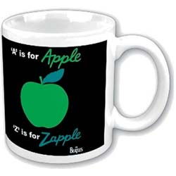 The Beatles Boxed Standard Mug: A is for Apple Z is for Zapple