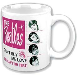 The Beatles Boxed Standard Mug: Can't Buy Me Love