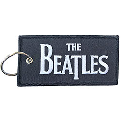 The Beatles Keychain: Drop T Logo (Patch)
