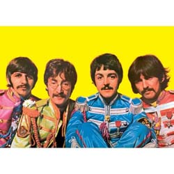 The Beatles Postcard: Sgt Pepper (Standard)