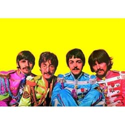 The Beatles Postcard: Sgt Pepper (Giant)
