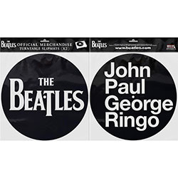 The Beatles Slipmat Set: Drop T Logo & JPGR