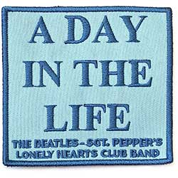 The Beatles Standard Patch: A Day In The Life (Song Title/Loose)