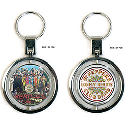 The Beatles Premium Key-Chain: Sgt Pepper (Spinner)