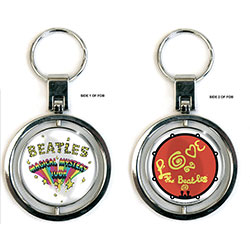 The Beatles Premium Keychain: Magical Mystery Tour (Spinner)