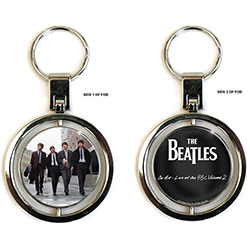 The Beatles Premium Keychain: On Air (Spinner)