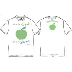 The Beatles Men's Premium Tee: A is for Apple (Back Print)