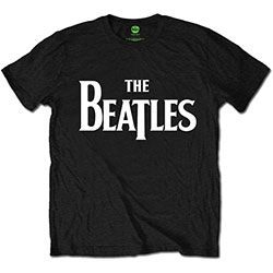 The Beatles Kid's Tee: Drop T Logo (Boy's Fit/Retail Pack)