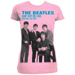 The Beatles Ladies Fashion Tee: You can't buy me love