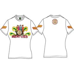 The Beatles Ladies Premium Tee: Sgt Pepper Naked