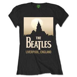The Beatles Ladies Premium Tee: Liverpool England