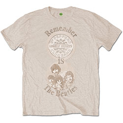 The Beatles Men's Tee: Remember