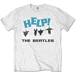 The Beatles Men's Tee: Help! Snow