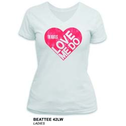 The Beatles Ladies Premium Tee: Love Me Do