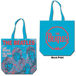 The Beatles Cotton Tote Bag: Lady Madonna (with zip top)