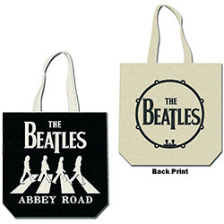The Beatles Cotton Tote Bag: Abbey Road (with zip top)