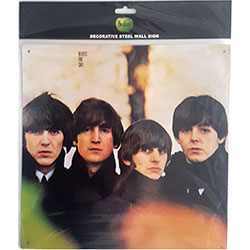 The Beatles Metal Wall Sign: For Sale