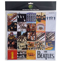 The Beatles Metal Wall Sign: Chronology