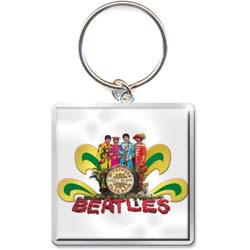 The Beatles Standard Keychain: Sgt Pepper Naked