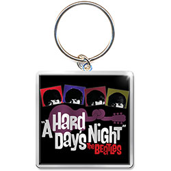 The Beatles Standard Keychain: Hard Days Night Guitar