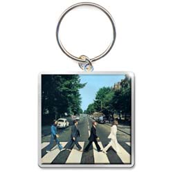 The Beatles Standard Keychain: Abbey Road Album