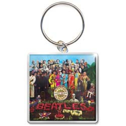 The Beatles Standard Key-Chain: Sgt Pepper Album