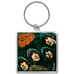 The Beatles Standard Keychain: Rubber Soul Album