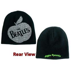 The Beatles Men's Beanie Hat: Apple Records