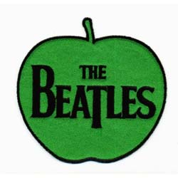 The Beatles Standard Patch: The Beatles on Apple (Iron On)