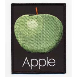 The Beatles Standard Patch: Apple Records (Iron On)