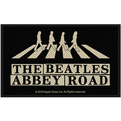 The Beatles Standard Patch: Abbey Road Crossing & Street Sign