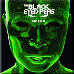 The Black Eye Peas Fridge Magnet: The End Album